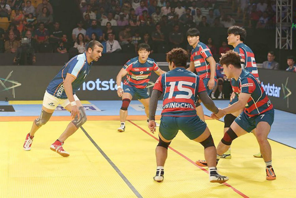 kabaddi masters: india will face iran in the finals