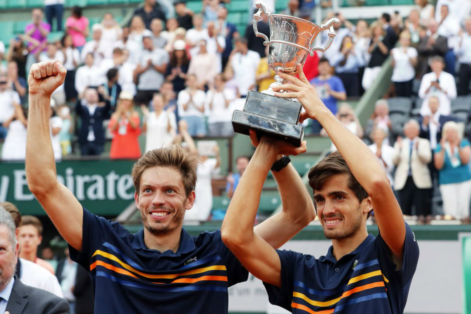 French Open: Herbert and Mahut Win French Open Doubles Title