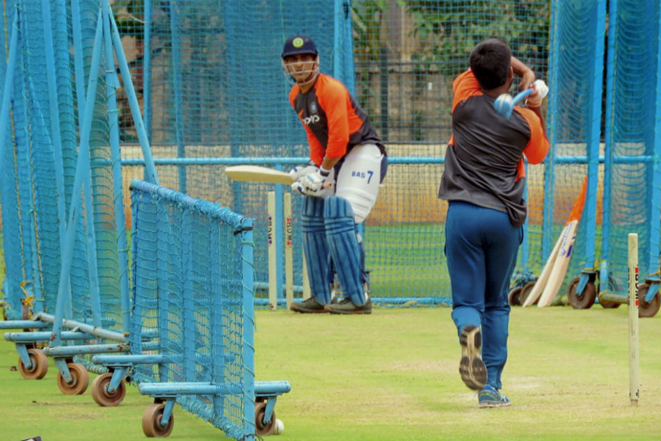 Away from prying eyes, MS Dhoni trains at NCA for upcoming England tour