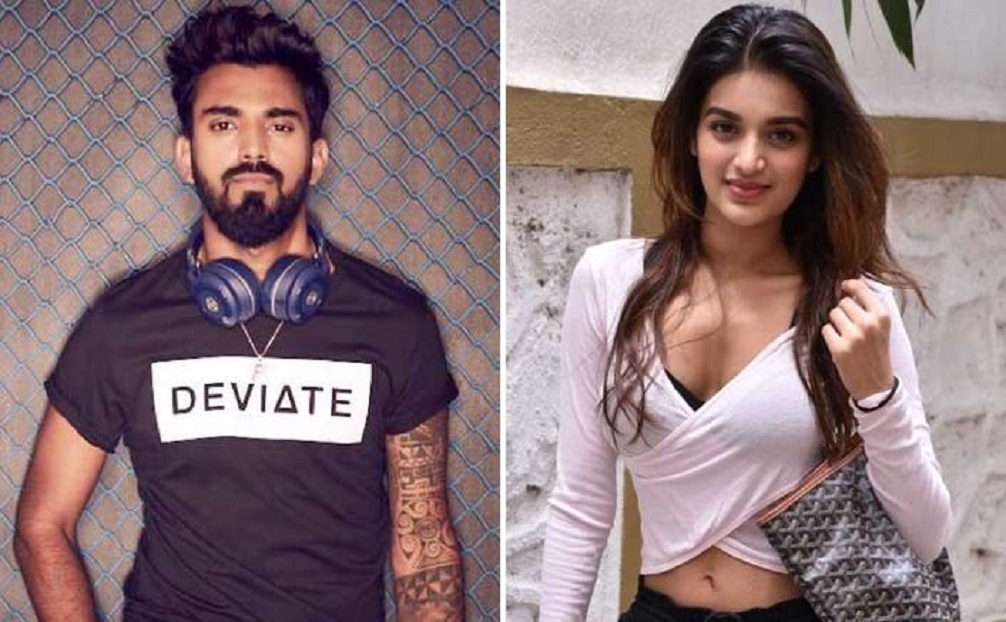 Cricketer Rahul denies dating Nidhhi Agerwal
