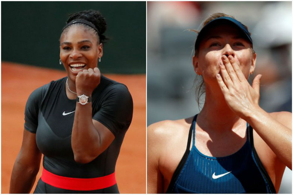 Serena roars on to set up Sharapova blockbuster