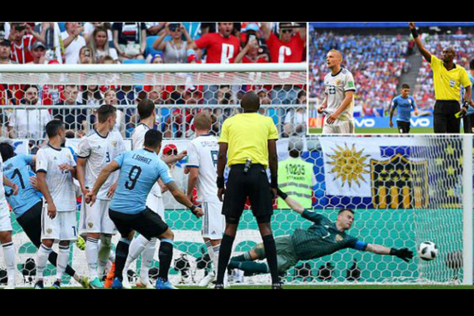 FIFA World Cup 2018: Uruguay beat Russia 3-0