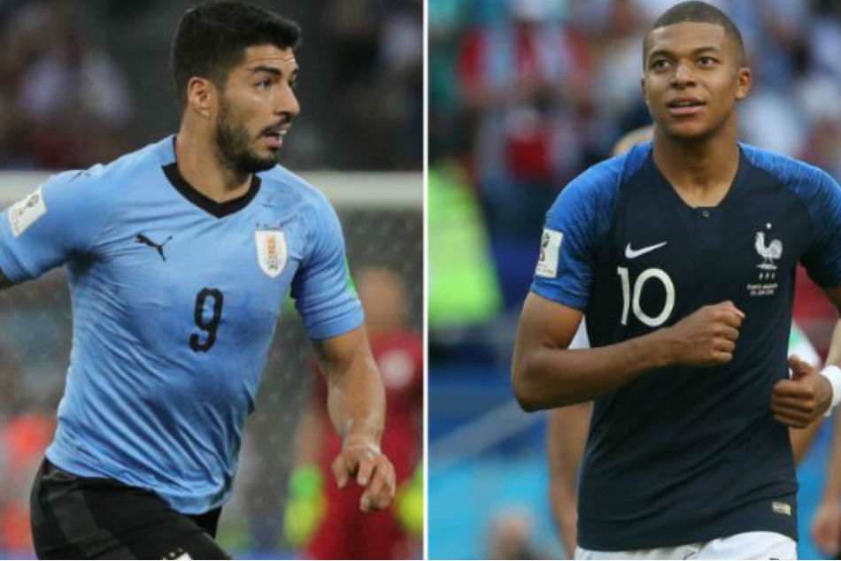 FIFA World cup 2018: Uruguay vs France -Live Score