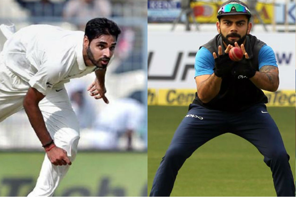 Virat Kohli Is Behind Bhuvneshwar Kumar In Batting Record In England