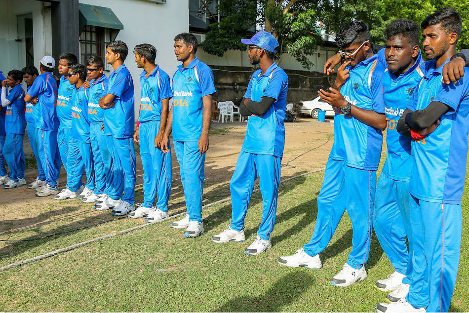 Blind cricket: India clinch T20 series against Sri Lanka 4-1