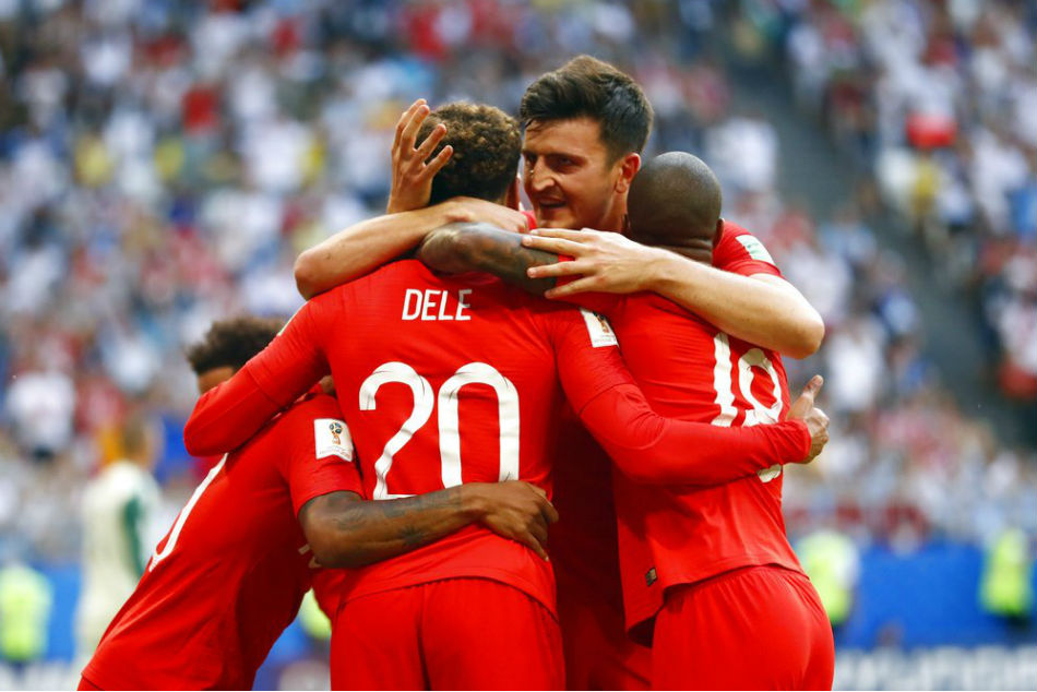 World Cup 2018: England beat Sweden 2-0