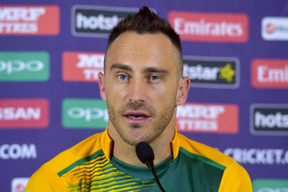 Is chewing gum allowed? i need clarity: du plessis