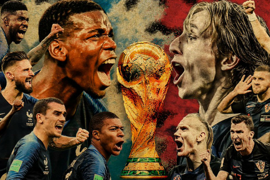 Fifa World Cup final: France v Croatia -Live Score