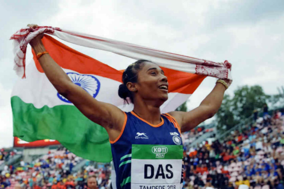 Eyes were filled with tears after hearing national anthem: Hima Das