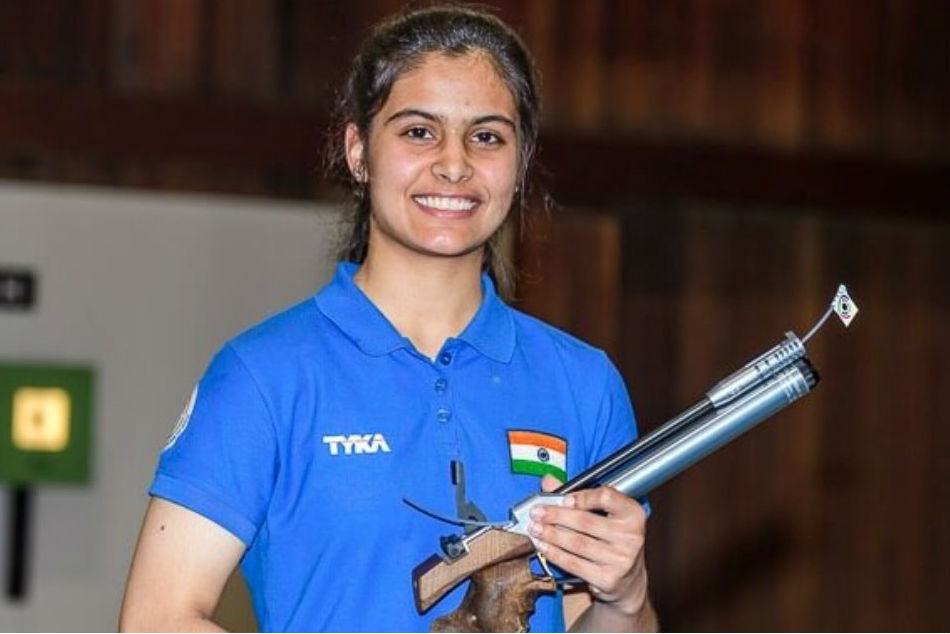 Bhaker, Jain clinch mixed air pistol team title