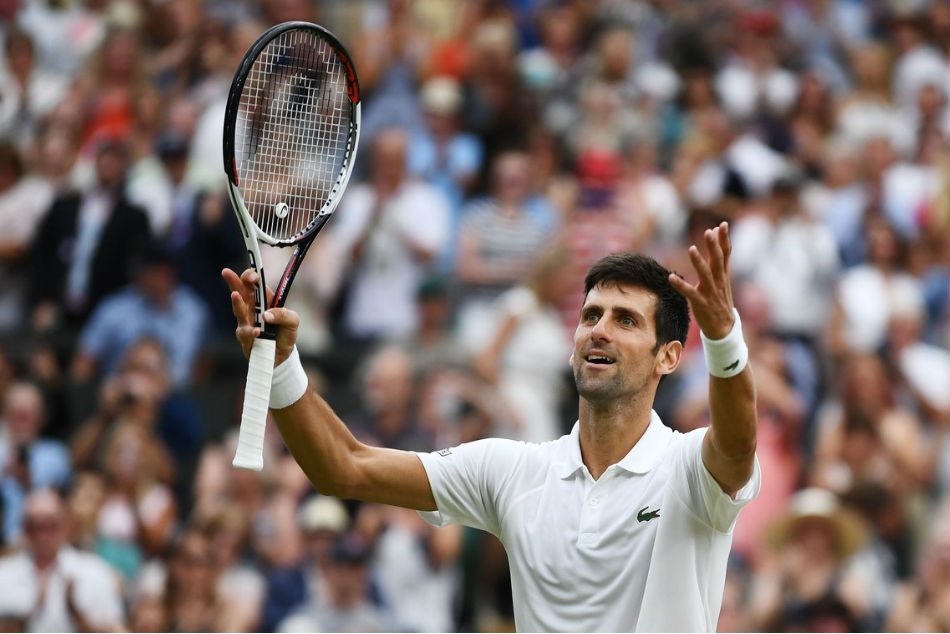 Novak Djokovic beats Kevin Anderson to win title