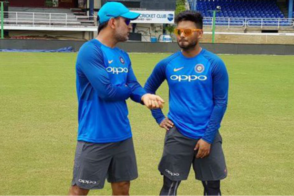 Rishabh Pant credits MS Dhoni for grooming him on various aspects