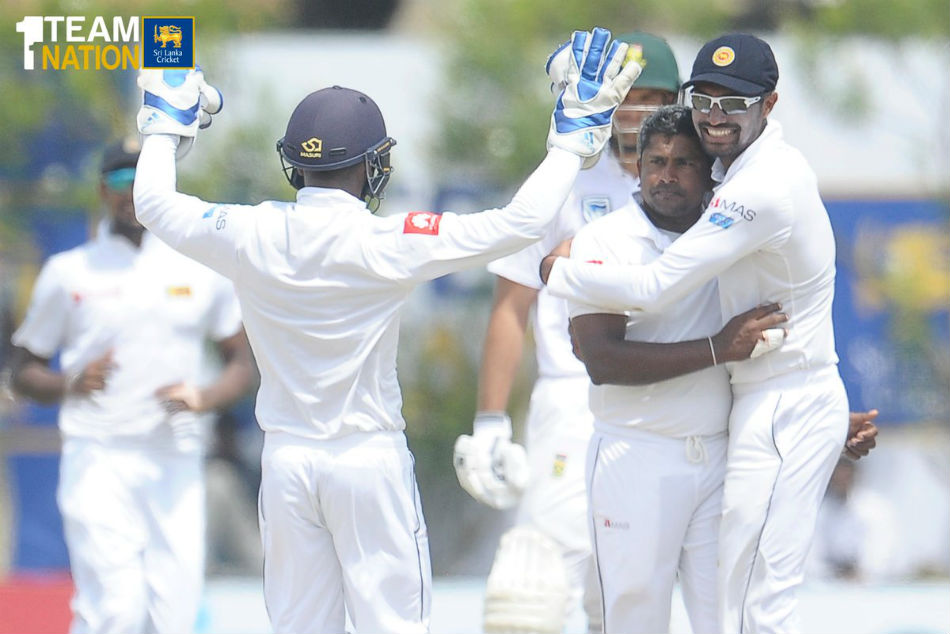 srilanka south africa first test report RESULT