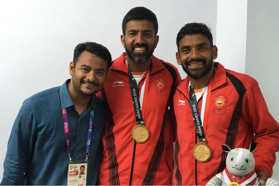 Asian Games 2018 Rohan Bopanna Divij Sharan Win Gold
