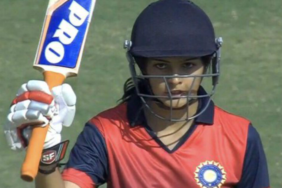 women challengers trophy t20 india women green beat women blue