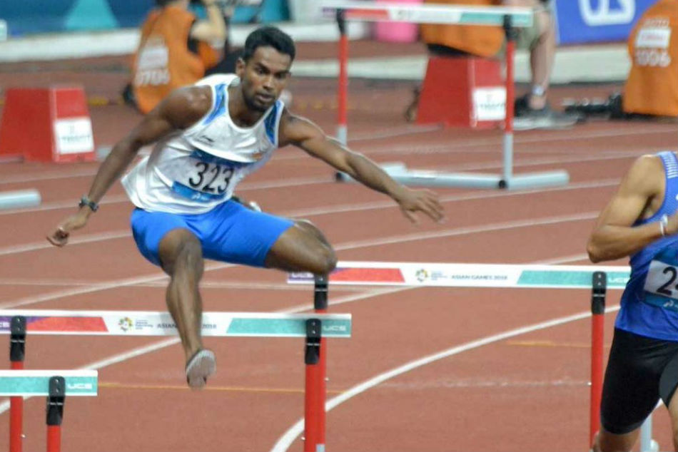 Asian Games: SILVER medal for Dharun Ayyasamy in Mens 400m