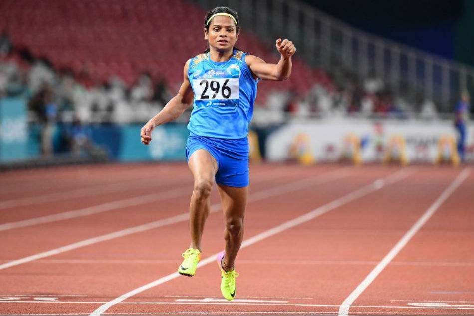 Asian Games 2018: Dutee Chand wins a silver medal
