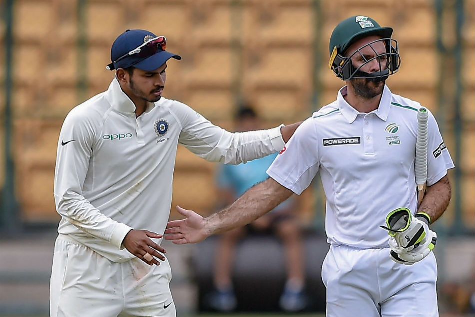 India A Vs South Africa A 2nd Unofficial Test Ended With Draw
