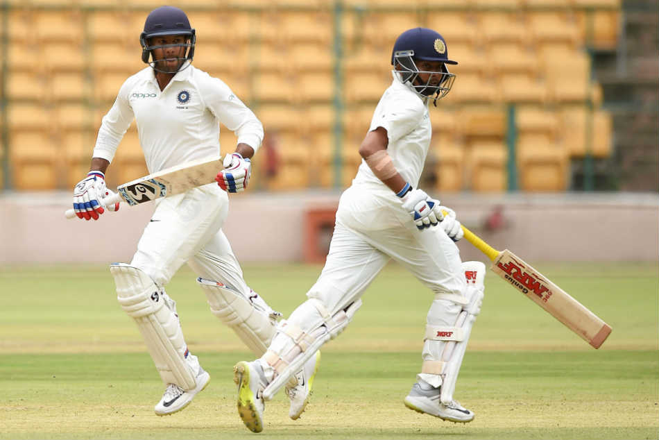 Mayank Agarwal, Prithvi Shaw tons power India A against South Africa A