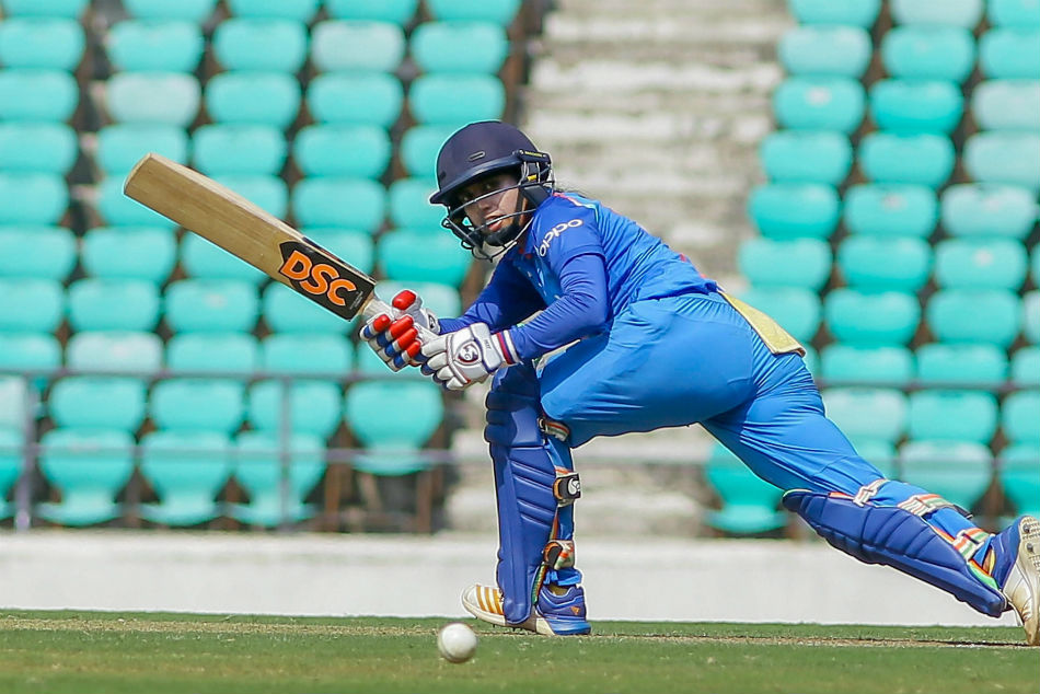 Womens T20 challengers trophy 2018 India red beat india blue
