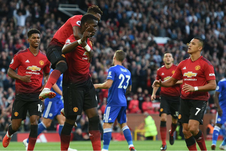 Pogba and Shaw goals give Man Utd winning start