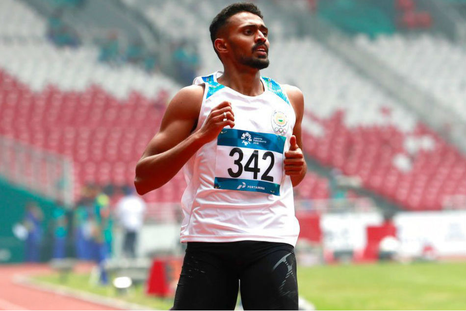 Asian Games 2018: Silver Medal in Mixed 4X400m Relay