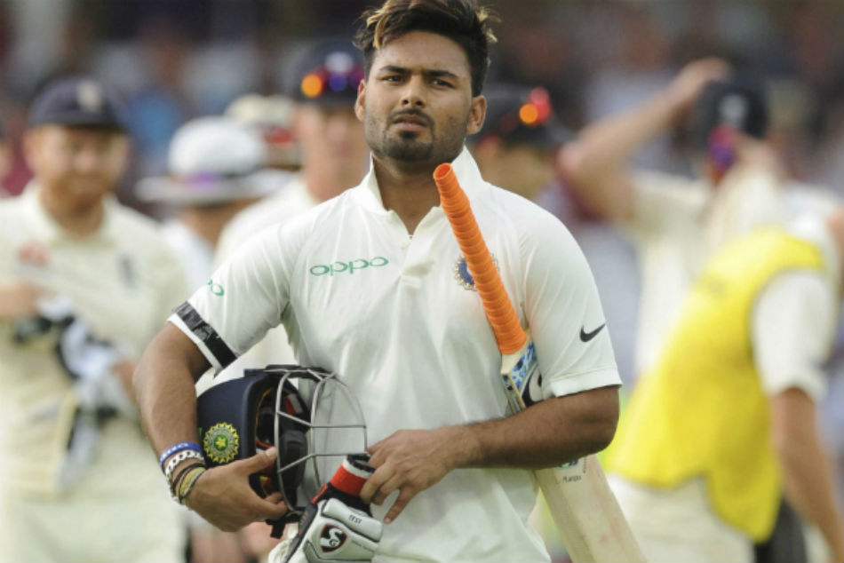 Rishabh Pant Create Record By Taking Five Catches In His Debute Innings