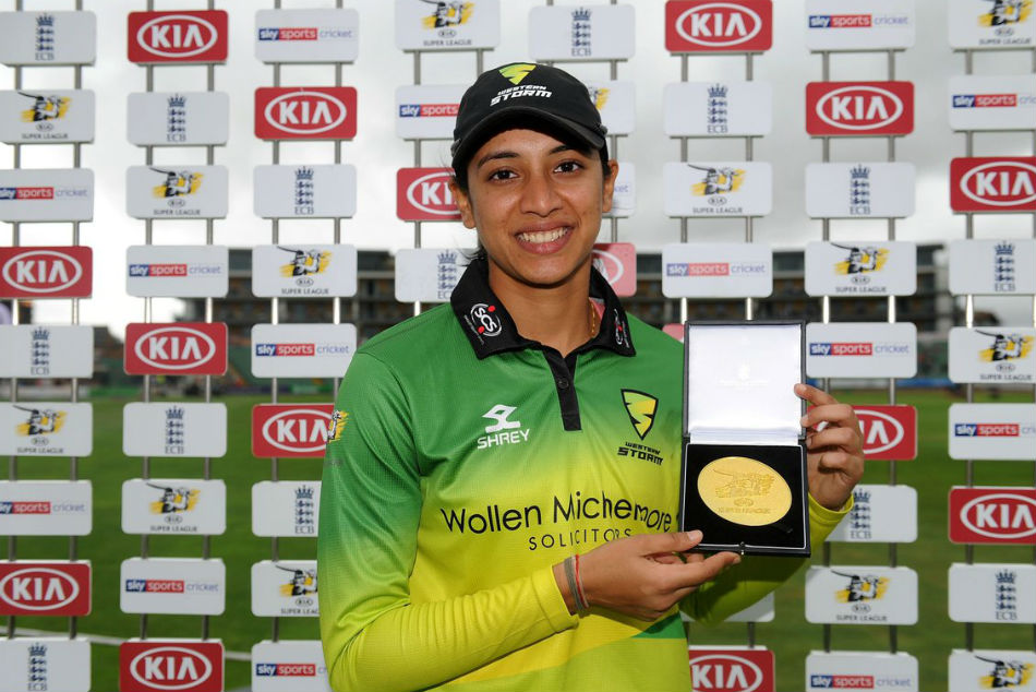 women cricket super league smriti mandhana century