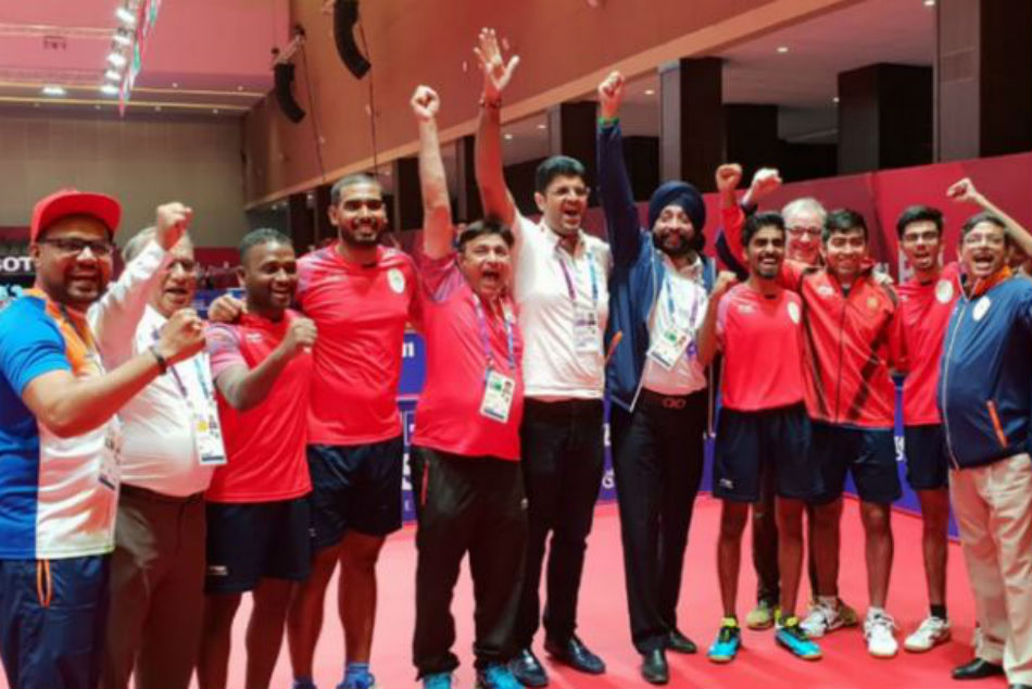 Asian Games 2018: indian mens table tennis team won bronze