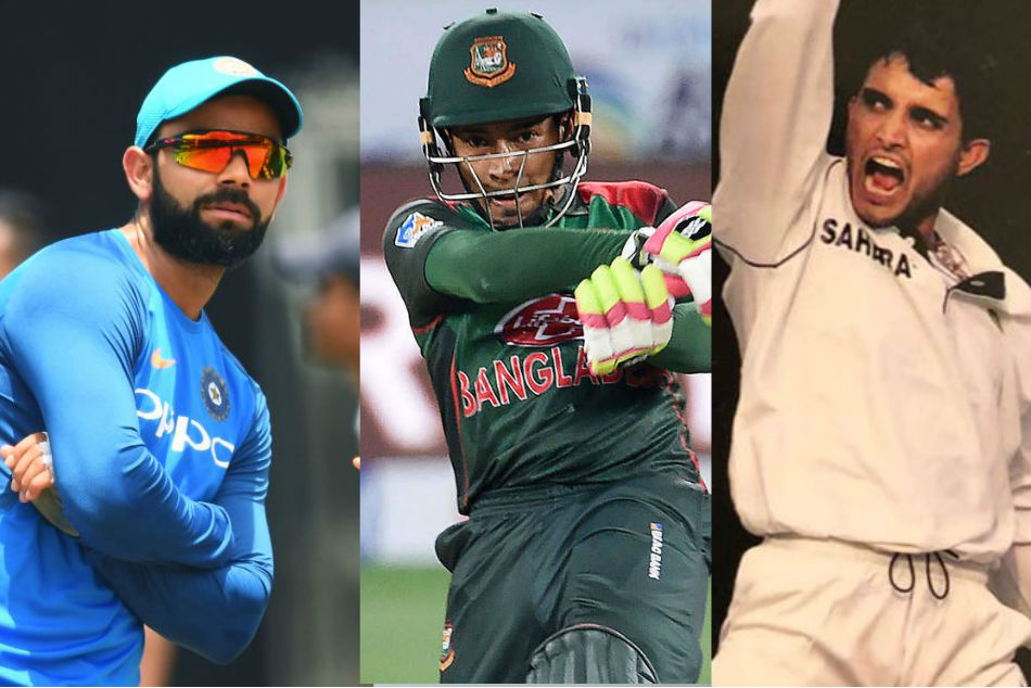 Top five all time highest scores in India vs Bangladesh matches