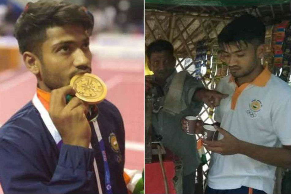 Asian Games 2018 Bronze Medallist Harish Kumar Sells Tea On Return To India