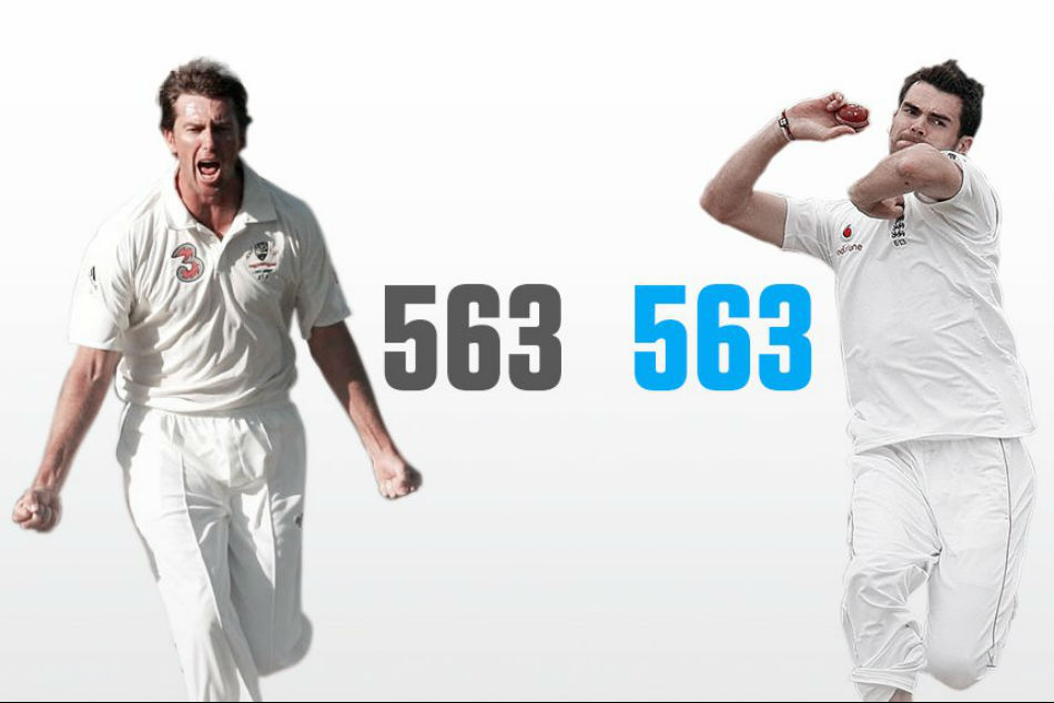 Anderson equals Mcgrath, becomes highest wicket-taking pacer in Tests