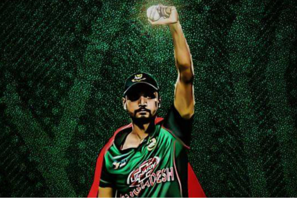 Superman Mashrafe Mortaza pulls off catch of the tournament