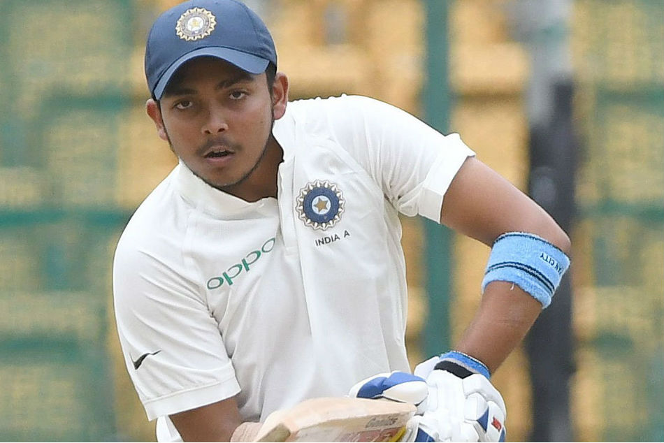 India Vs West Indies: Prithvi Shaw likely to make his Test debut on October 4