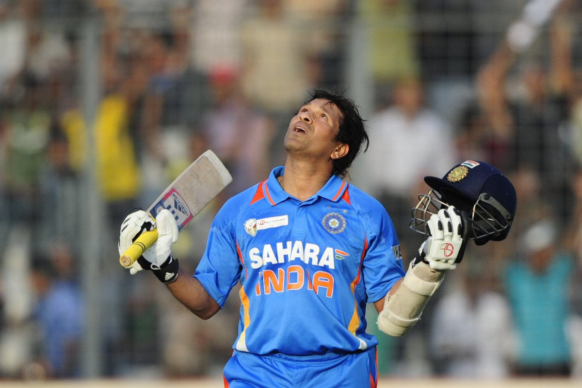 Asia Cup: Sachin gets 100th hundred but receives a lukewarm welcome