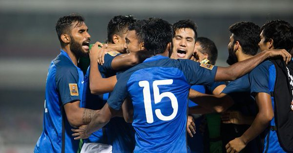 saff cup final Maldives beat India 1-2