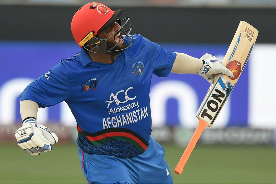 Shahzad Become First Afghan Batsman To Hit A Century Against India