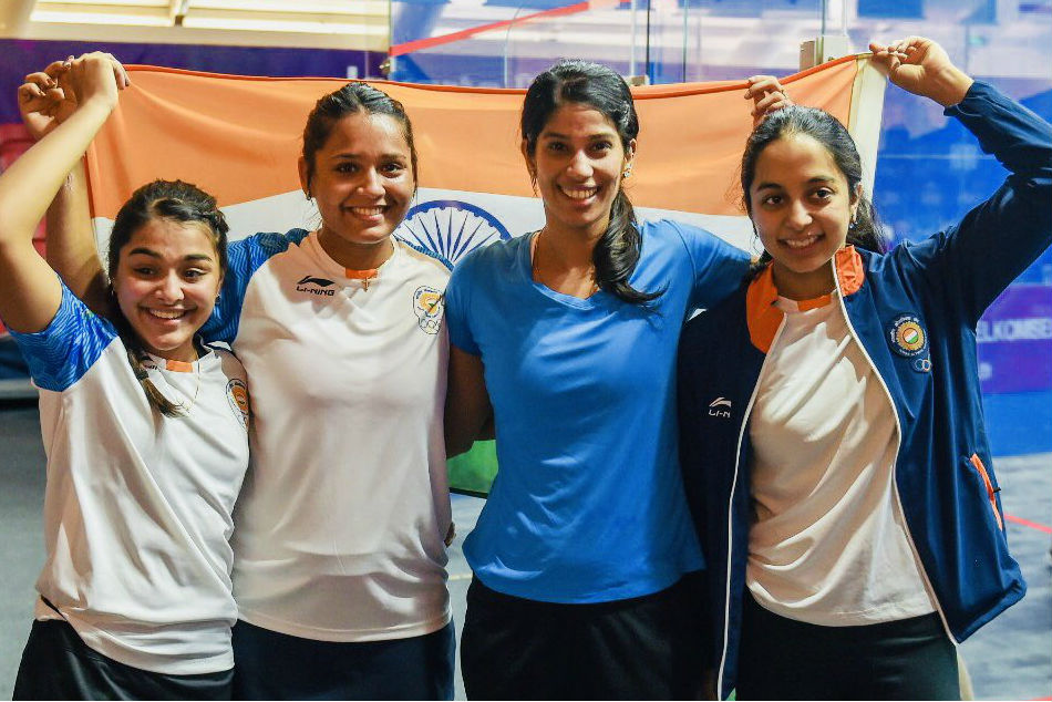 Asian Games Indian Women S Team Settle Silver Squash