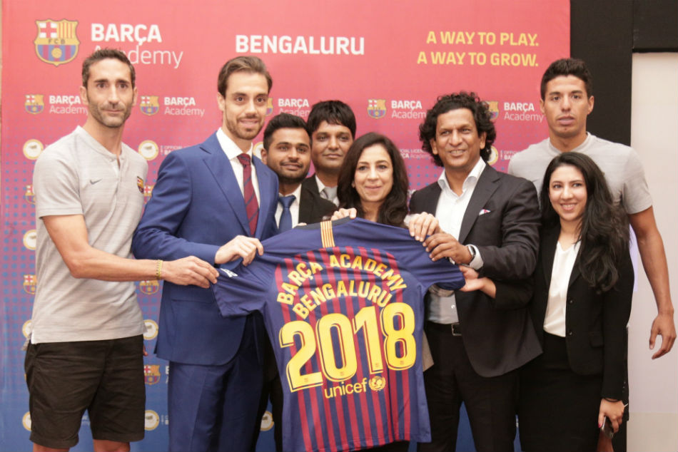 Barca Academy to come up with 2 Football school in Bengaluru.