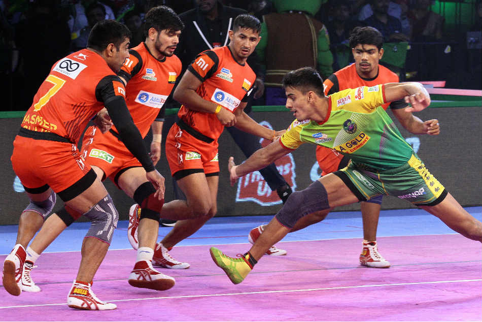 Pro Kabaddi 2018 Bengaluru Bulls edge out Patna Pirates
