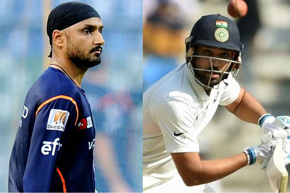 Harbhajan slams BCCI for not taking Rohit in Test squad against Windies