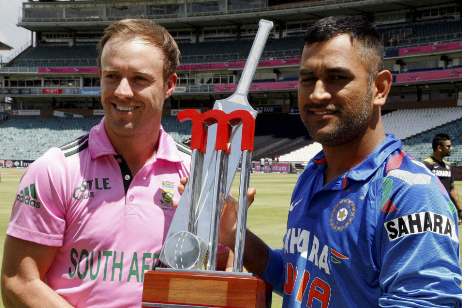 I Would Play Ms Dhoni In My Team Even If Hes 80 And In A Wheelchair Ab De Villiers