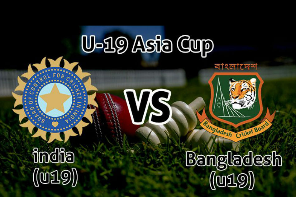 ACC Under 19 Asia Cup 2018 india U19 beat Bangladeh U19 in 1st Semi final