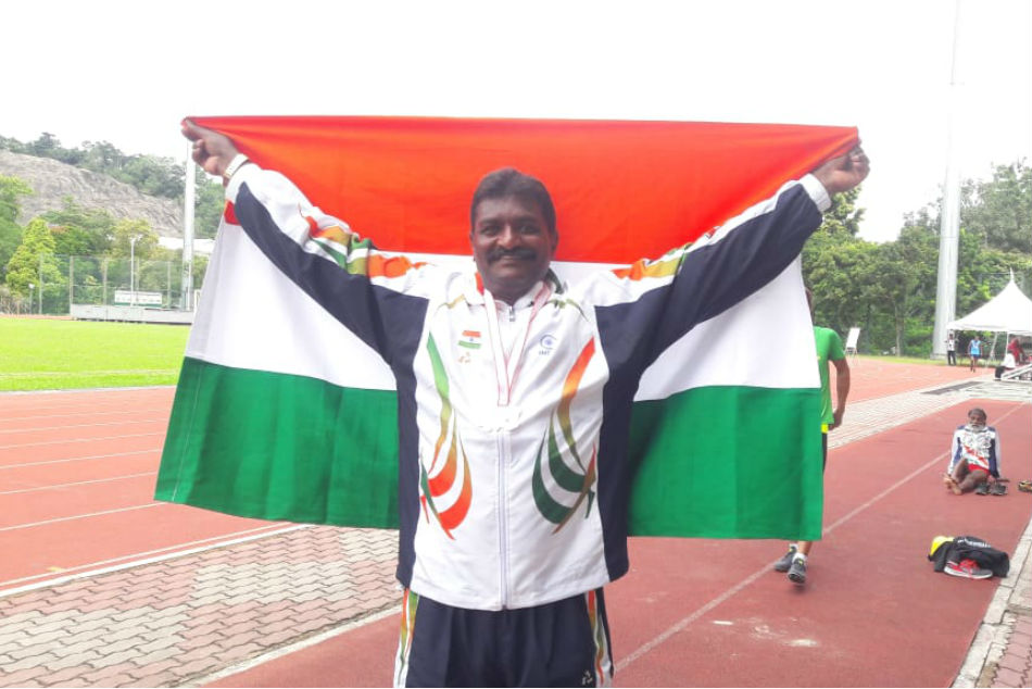 Masters Athletics: D Nagabhushan win Bronz for India
