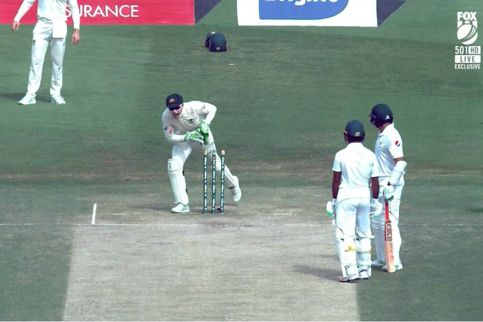 Azhar Ali's run-out could be the most bizarre dismissal of the year