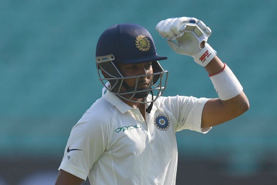 Prithvi Shaw Youngest Indian Score Century On Test Debut