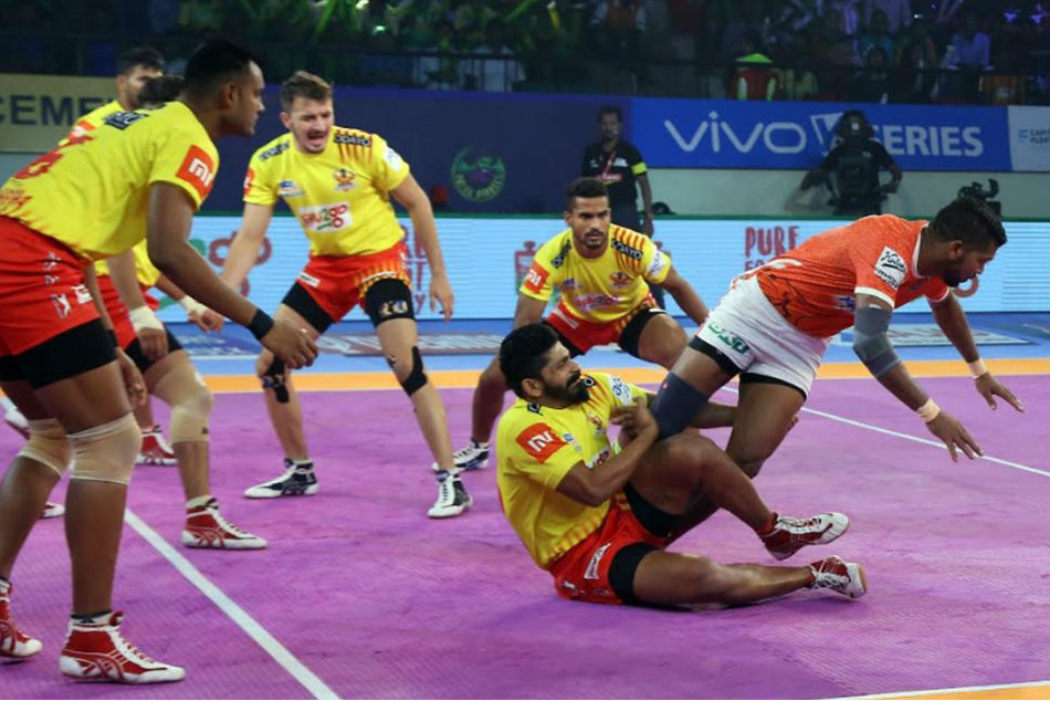 Pro Kabaddi 2018: Fortunegiants win 37-27 over Puneri Paltan