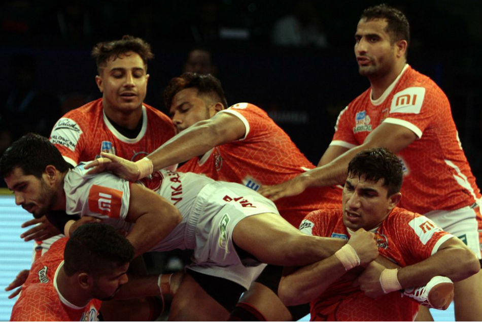Pro Kabaddi League 2018 Paltan Beat Steelers 34