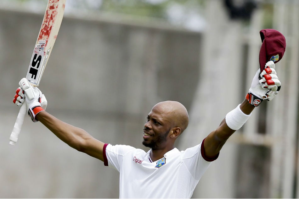 India vs Windies: Roston Chase his fourth 100 in Tests