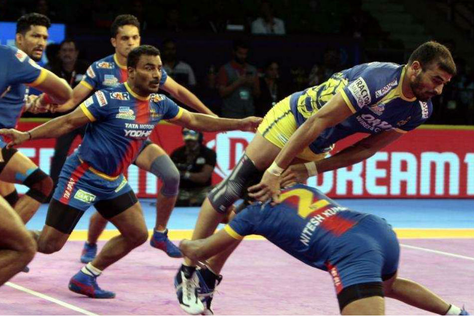 Pro Kabbadi Clinical Up Yoddha Get The Better Tamil Thalaivas